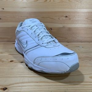 Nike View II Walking Shoes Sneaker # 318234-111 Men's Size 15  Color White/Grey